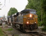 CSX Q008-08 with a nice engineer at CP22!