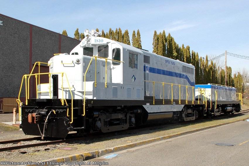 OPR 1810 & 1010 in new SFGX paint.