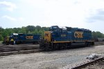 CSX GP-40-2 #6019 & SD-40-2 #8454 are the NN Yard swithchers