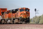 BNSF ES-44DC #7559 leads an eastbound intermodal