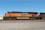 BNSF ES-44DC #7602 leads an eastbound intermodal train