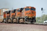 BNSF ES-44DC #7639 leads an eastbound intermodal
