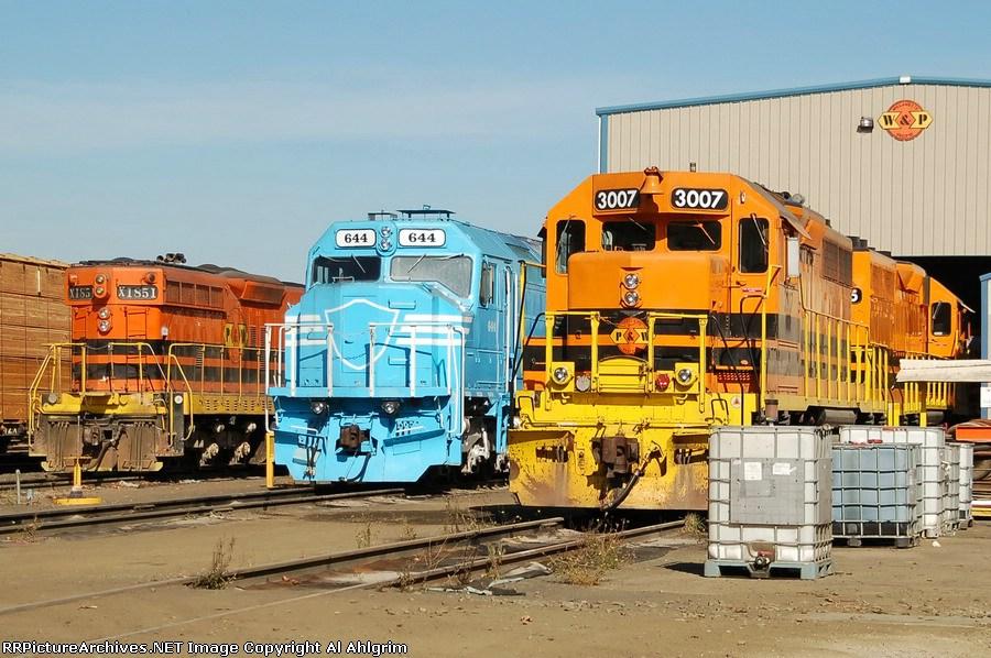 PNWR 1851 DLMX (NRMX) 644 PNWR 3007