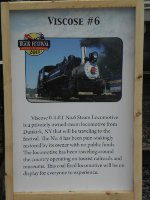 Viscose 0-4-0T #6 Info Sign