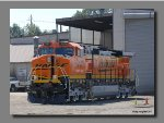 BNSF 981 with freh paint at CEECO