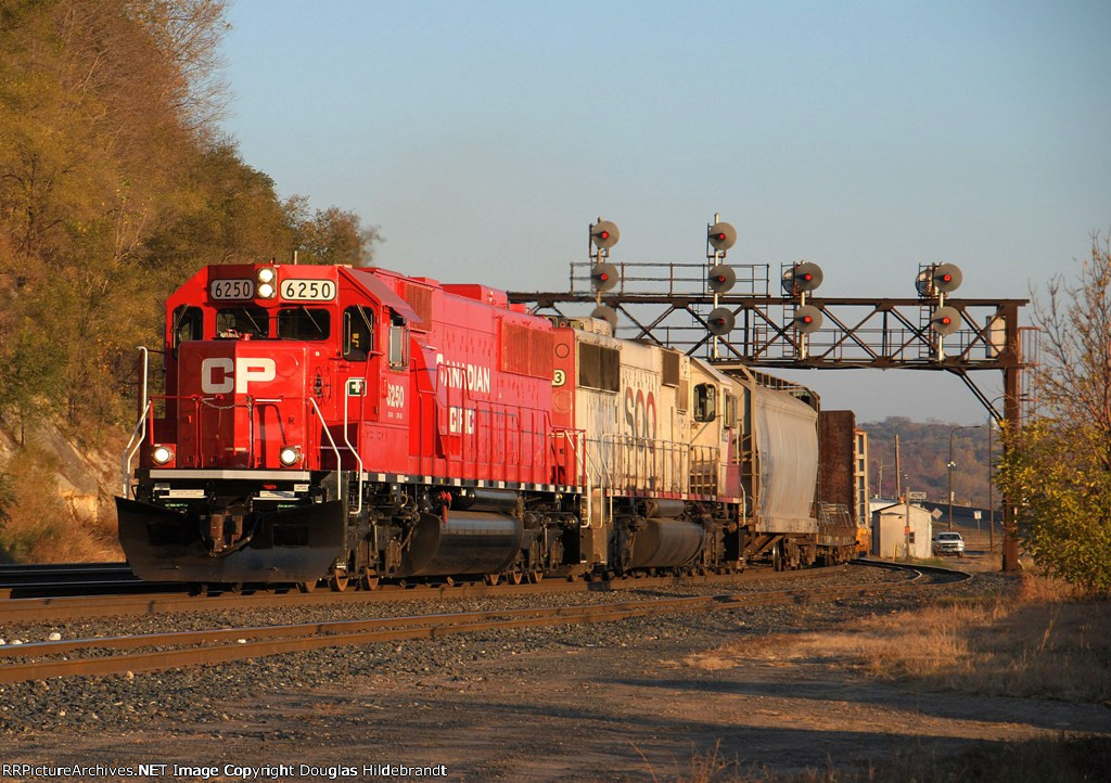 CP 6250, Saint Paul Transfer