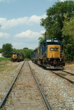 CSXT 4422 and five others