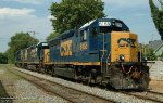 CSXT 6158 and two others