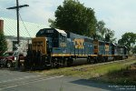 CSXT 6398 and two