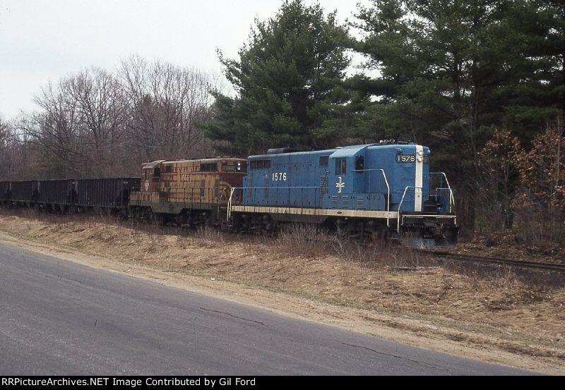 B&M D-7(Gravel train)
