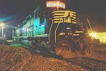 NS 3383 at night