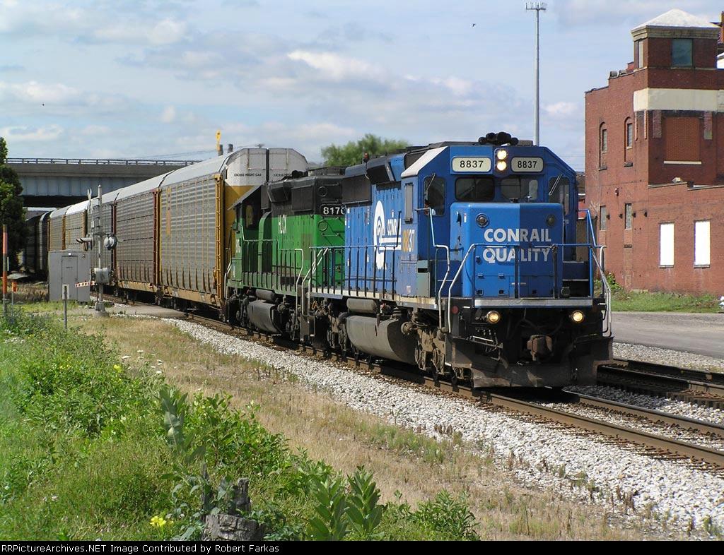CSX (CR) 8837, HLCX 8170