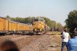UP 6590 on point as she leads a Coal through Sedalia