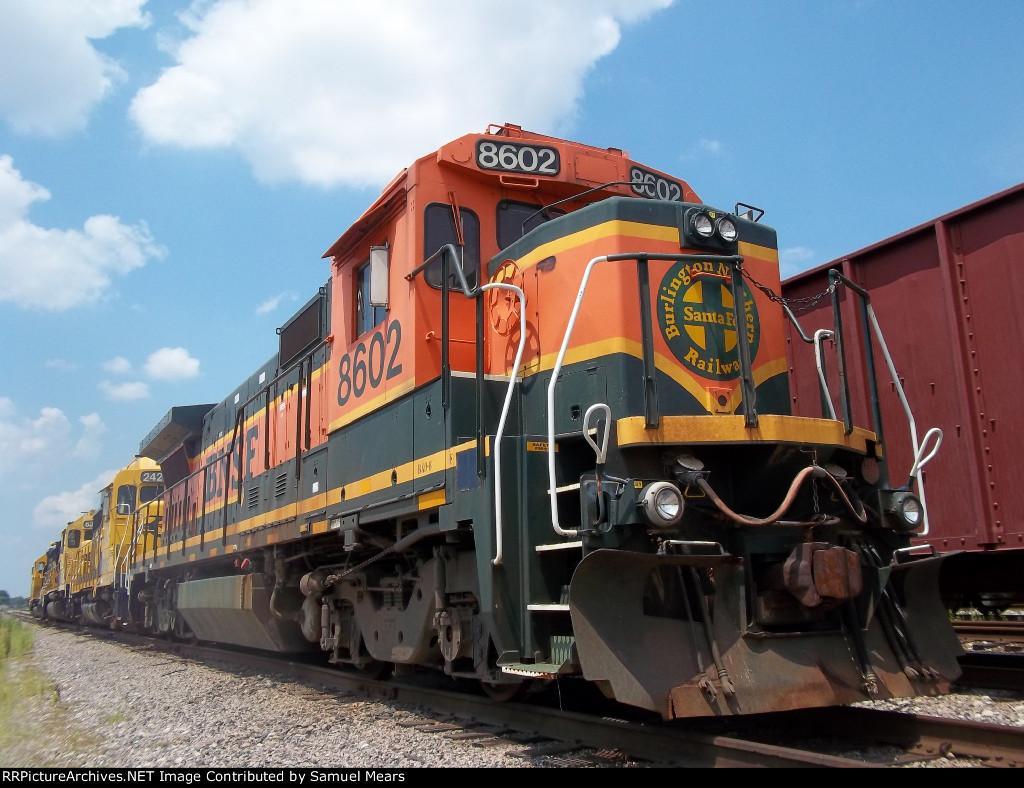 BNSF 8602