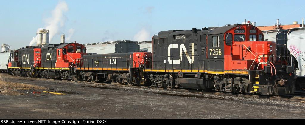 CN 7256, CN 259, CN 7277 & CN 7226