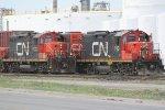 CN 7233, CN 250, CN 7031 & CN 4772