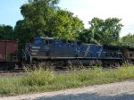 CEFX 1037 West on a UP Coal Drag