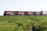 BNSF7426, BNSF5205, BNSF7498 and BNSF7273