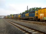 CSX 6243 and 4520
