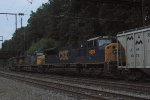 CSX SD80MAC 4602 on Q438-12