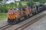 BNSF1065, BNSF5061 and CSX8568
