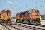 BNSF7576, BNSF7447, BNSF4170 and BNSF4439