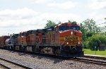 BNSF44774785, BNSF4316 and Richmond Pacific 424, BNSF