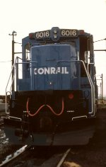 CR C38-8 #6016 sits in Greenwich Yard in South Philly