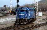 CR GP-40 #3205 leads a lite engine move