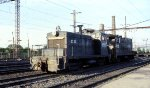 CR SW-1 #8565 is teamed up with VO-10E #9310 on a light engine move at Frankford Junction