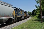 Move by CSX 6438, 2264 along with CSX 2623