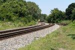 Four CSX Train