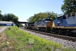 CSX 877, 722 and 15