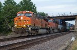 BNSF7812 and BNSF7586 at Peck Park