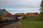 BNSF9418, BNSF 4135 and BNSF5380 at Peck Park