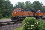 BNSF7343 and BNSF7475 at Peck Park