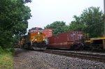 BNSF5015, BNSF4537 and BNSF7219 at Peck Park
