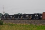 NS2681, NS9608, NS7580, NS9038 and NS1006 waiting to leave the yard