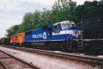CSX 775 with CSX 9699 (Trains Magazine All American Diesel)