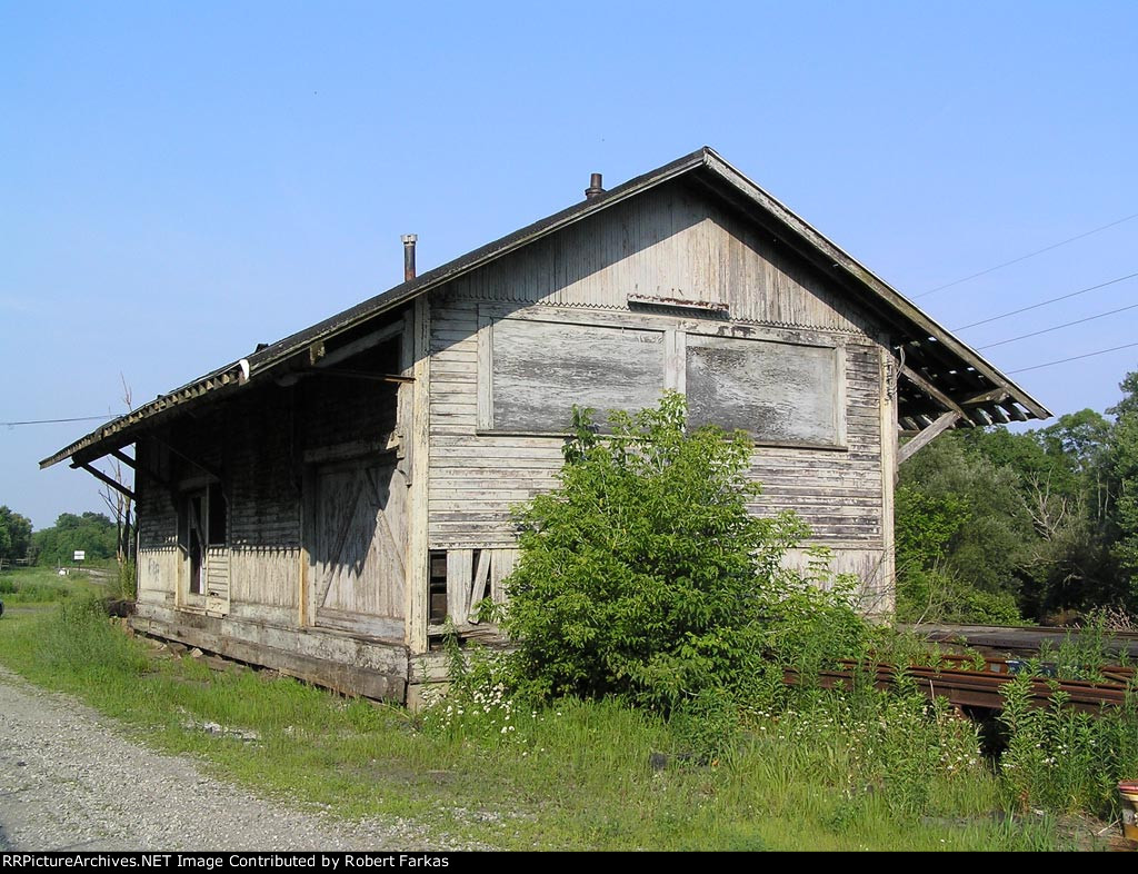 Ex-B&O freight station - East side