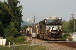 NS 7632, southbound NS grain train 48A