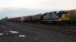 CSX 2807 parked on a Spur