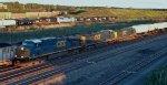 CSX Intermodal meets NS 15M