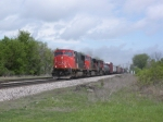 CN 5504 about to hit dimonds.
