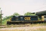 CSX SD40-3 4012