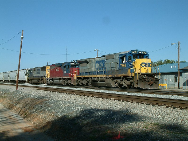 Abbeville bound train