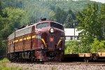 Pacific Express at Narrowsburg