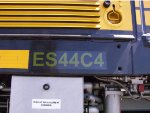 BNSF 6679 on desplay