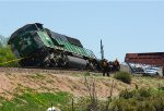 BNSF #8105 Wreck in Westminster, CO