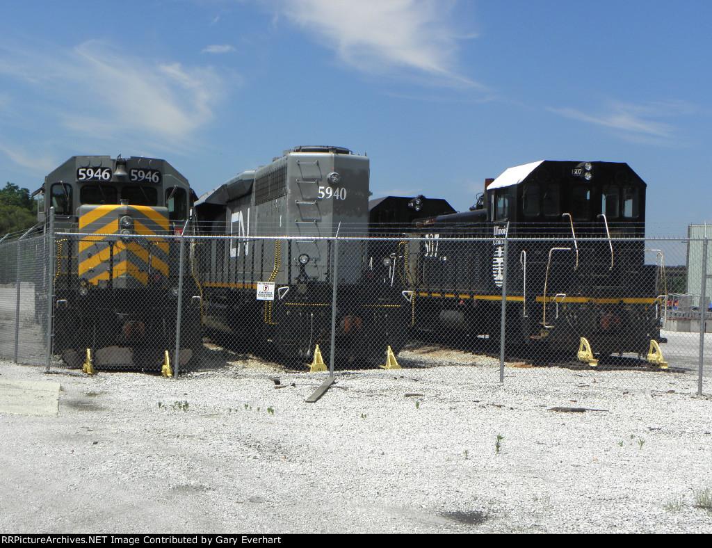 CN Markham Yard Scrap Line - Homewood, IL
